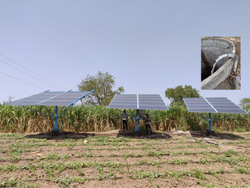 Solar Water Pump - 15 Hp