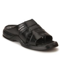 Mens Black Slip On Slippers