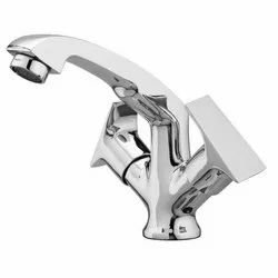 Silver Stainless Steel SS Sink Mixer Tap, Packaging Type: Box