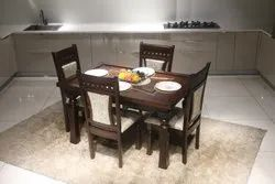 Brown Elegant Dining Table, For Home