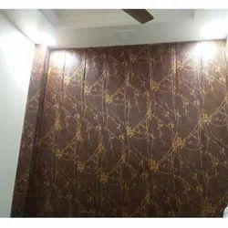 Brown Designing Wall Panel