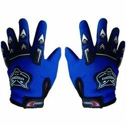 Blue Knighthood Riding Gloves