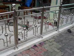 Steel Railing Balcony Staircase