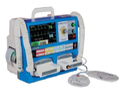 Defibrillator with ECG