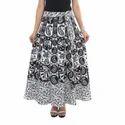 Black & White Wrap Around Skirts