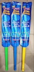 Plastic Handle Multicolor Grass Broom, For Cleaning