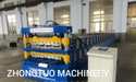 Very Popular Double Layer Roll Forming Machine In China For Roofing And Wall Sheet