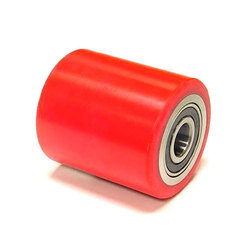 Red PU Rollers, Length: 100 - 400 mm