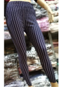 Pimienta Striped Cotton Stretch Linen Pants