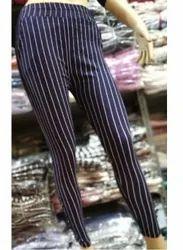 Pimienta Striped Cotton Stretch Linen Pants