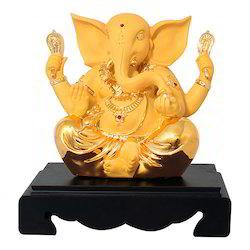Gold Plated Shri Ganesh Statue