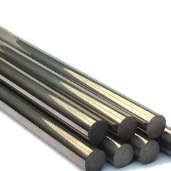 416 Black Stainless Steel Round Bar, Length: 3 meter