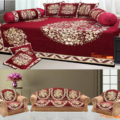 Terrific Sofa Diwan Cover Floral Sofa Cover Manufacturer From Panipat Lamtechconsult Wood Chair Design Ideas Lamtechconsultcom