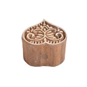 Wooden Heart Henna Printing Blocks