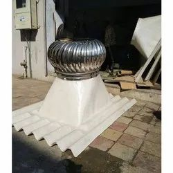 SS Turbo Ventilator With Dome
