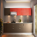 Straight Modular Kitchen