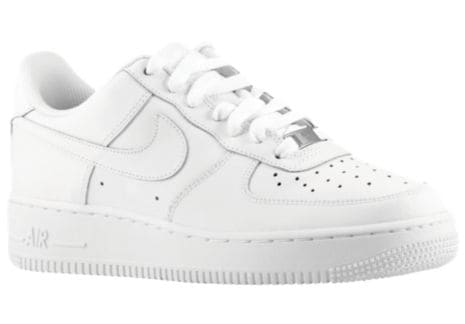 the latest c6c42 bd51b White white Men Nike Air Force 1 Low Boys Grade School Shoes