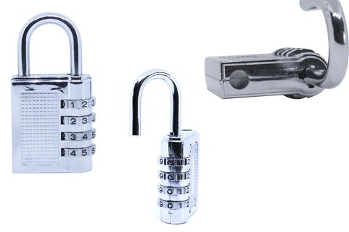 cb4830fe4d1d DeoDap Security Pad Lock-4 Digit, 4-Digit Safe PIN Hand Bag Shaped  Combination Padlock