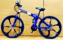 BMW Blue X6 Foldable Cycle