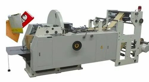 Automatic Paper Bag And Covers Making Machine