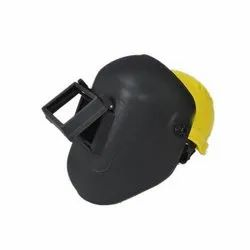 Welding Screen With Safety Helmet