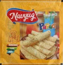 Papapd Navyug Masala Moong Rice Mix Papad, Packaging Size: 500 Gm