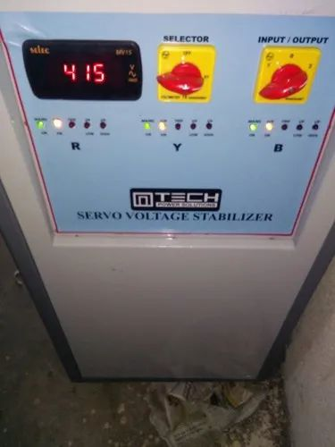 Servo Stabilizer for CNC Router