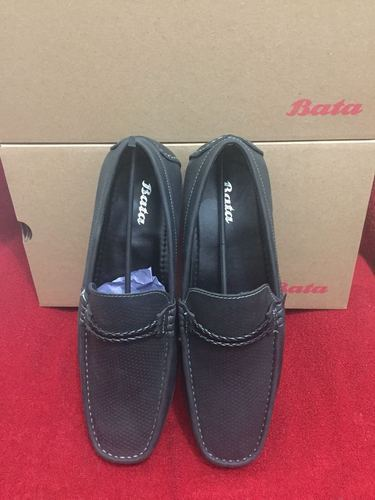 Polymer And Leather Loafer Shoes