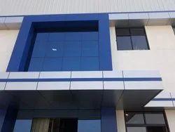 VMK Exterior Aluminium Composite Panel, Thickness: 3-5 Mm