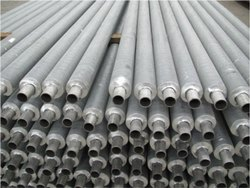 Welltech 40mm SS Finned Tube Manufacturers, 3 meter, Thickness: 2mm