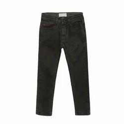 Kids- Boys Black Jeans Pants