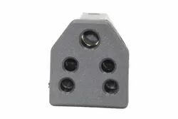 ABS Plastic Black 5 Pin Socket Pin, For Electric Fittings
