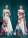 Pr Fashion Launched Beautiful Designer Two One Lehenga Choli Cum Gown