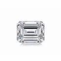 Emerald Cut DEF Moissanite Diamond