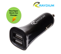 Raydium Formax QUICK Dual Car Charger Universal for All Phones & Tablets