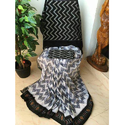 Designer Pochampally Saree, 5.2 M (separate Blouse Piece)