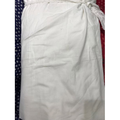 White Cotton Fabric, GSM: 250-300