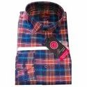 Maars Cotton Mens Formal Checked Shirts, Machine Wash, Size: 36 To 44