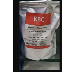 1000 gm KBC Laser Toner Magenta Powder