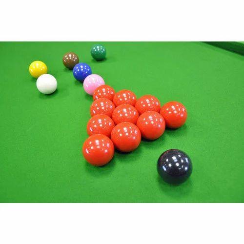 Plain Snooker Ball Set at Rs 5000 /set   Snooker Ki Gend ...