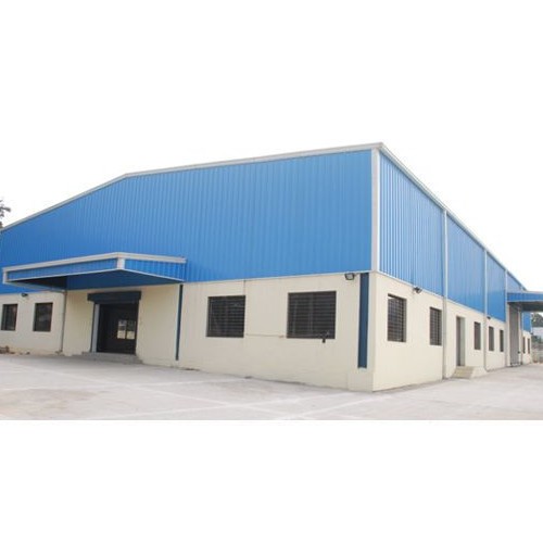 Asbestos Cement And Aluminum Prefabricated Factory Shed Id