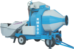 Automatic Stainless Steel Concrete Mixture 3 Bag RM800