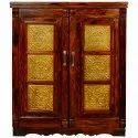 Sheesham Walnut Wooden Bar Cabinet