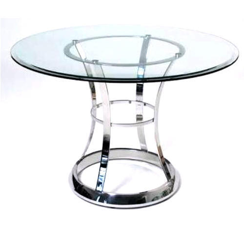 Charmant Stainless Steel Dining Table