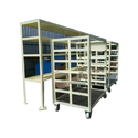 Fabricated Material Handling Trolley