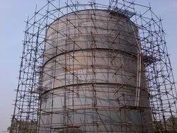 48.3 Mm Die Mild Steel Scaffolding h Frems Rental With Erection Service, On Site Work