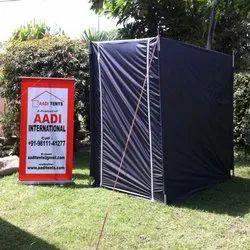 Flat Roof Toilet Tent