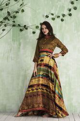 Pr Fashion, New Printed Readymade Gown