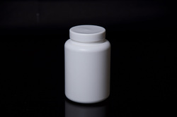 HDPE Supplement Jar with Screw Cap