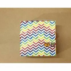 Rainbow Pattern Designer Cake Box